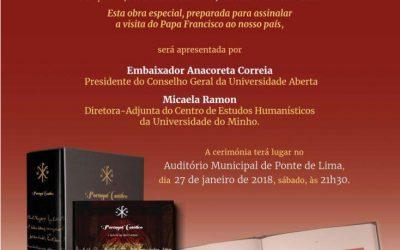 """Apresentação da obra """"Portugal Católico"""" em Ponte de Lima"""