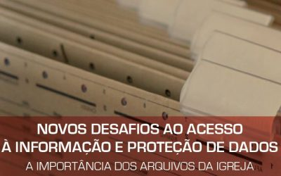 Jornadas sobre Proteção de Dados e Arquivos da Igreja