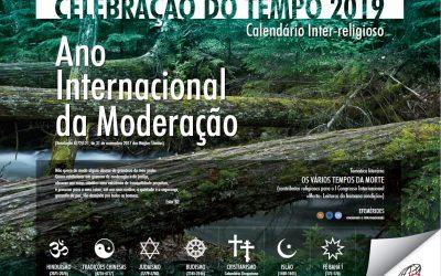Calendário Celebração do Tempo 2019 é dedicado ao tema do congresso