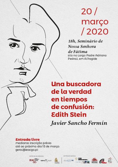 Javier S. Fermín – Edith Stein em conferência